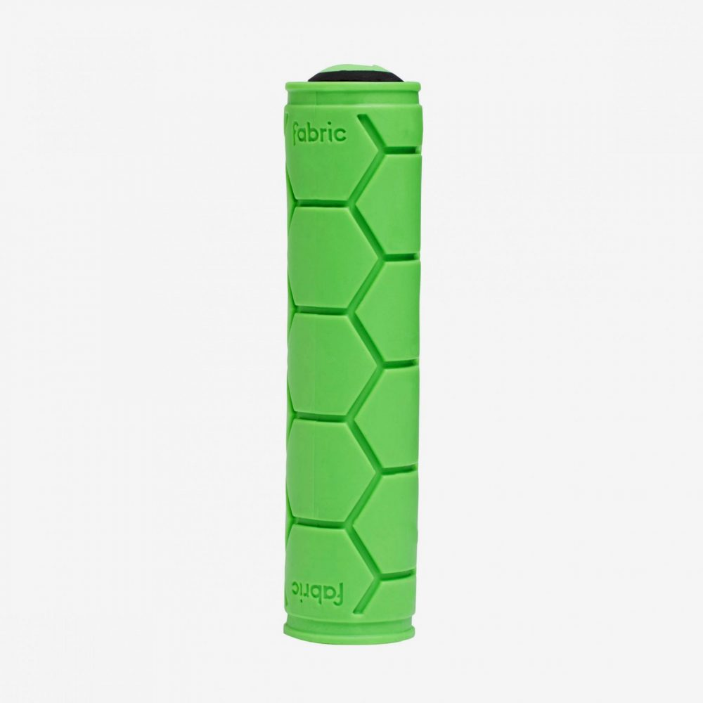 Fabric Silicone Grip Green Single