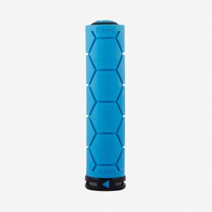 Fabric Silicone lock on Grip Blue Single