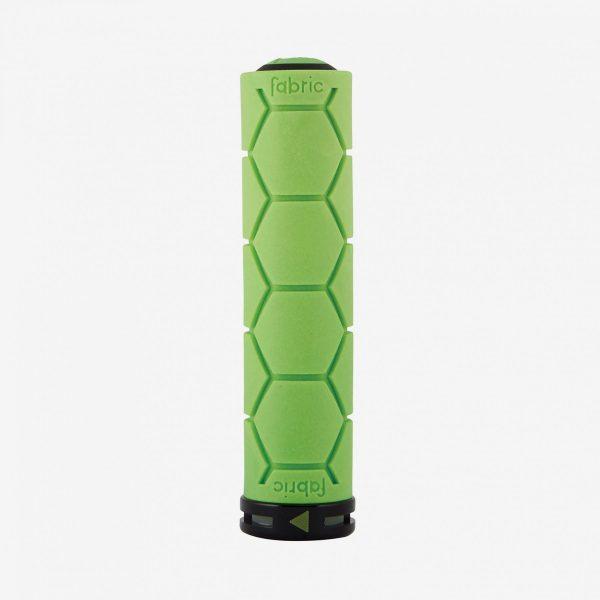 Fabric Silicone lock on Grip Green Single