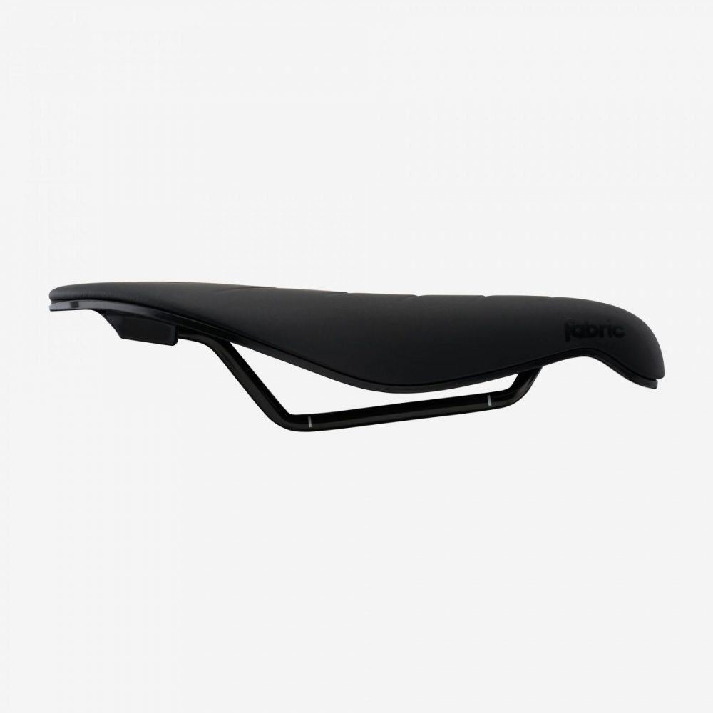 Fabric Tri Elite Saddle BlackBlack mm Side