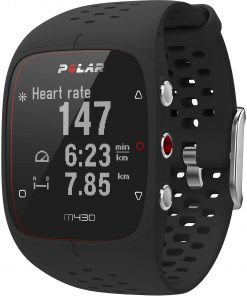 polar  m training watch black