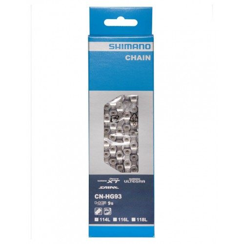 shimano cn hgt chain  speed  links