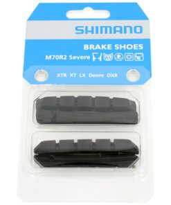 shimano mr cartridge brake shoe inserts with fixing pins na EV
